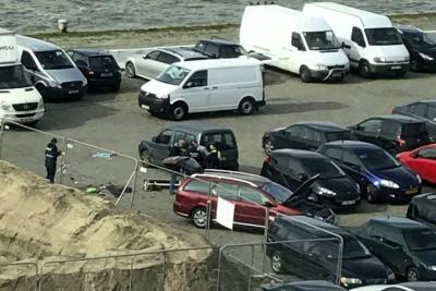 """Detuvieron a conductor armado tras """"poner en peligro"""" a peatones en Bélgica"""
