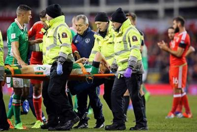 Terrible lesión en las eliminatorias europeas