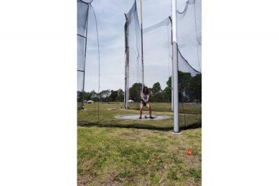 Carolina Ulloa, oro en lanzamiento de martillo