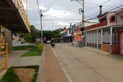 Un herido dejó intento de robo en un restaurante en Piedecuesta
