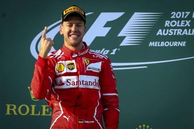 Vettel y Ferrari ganan Gran Premio de Australia de F1