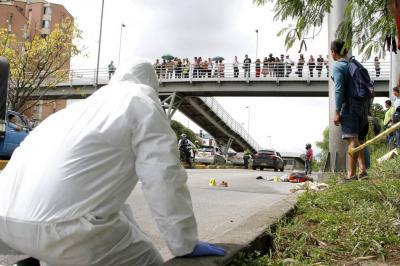 Peatón murió luego de ser atropellado por tres vehículos en Floridablanca