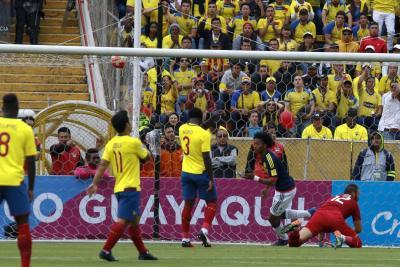 Colombia venció a Ecuador y empieza a soñar con Rusia