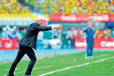 """""""Todavía no se ha ganado nada"""": DT José Pékerman"""