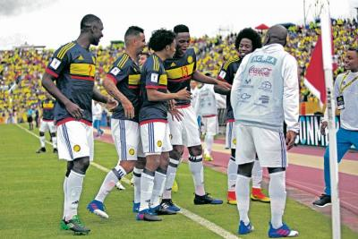 ¿A cuántos puntos de Rusia está la Selección Colombia?