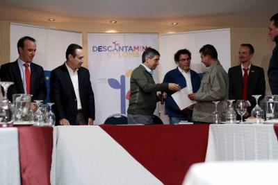 Se inauguró la organización encargada del desminado humanitario de las Farc
