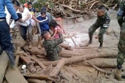 Mensajes desesperados de víctimas en Mocoa