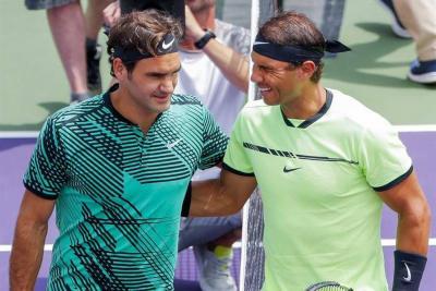 Federer derrotó otra vez a Nadal y se quedó con el título en Miami