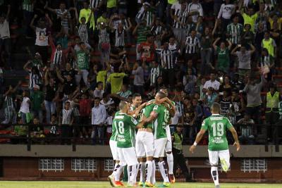 Estas son las estadísticas del partido entre Chapecoense y Atlético Nacional