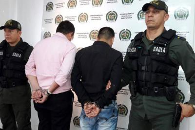 Capturados dos abogados investigados por extorsión en Bucaramanga