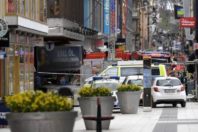 Varios muertos tras atentado con camión en Estocolmo