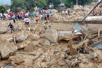 A 316 aumentó la cifra de muertos por la avalancha en Mocoa