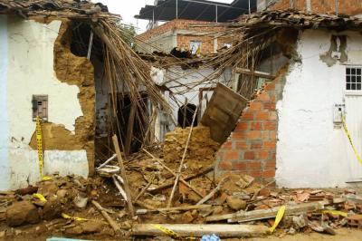 290 mil personas viven en zonas de riesgo en Bucaramanga y el área