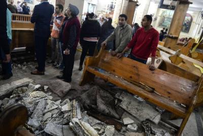 Decenas de muertos por dos atentados en Egipto