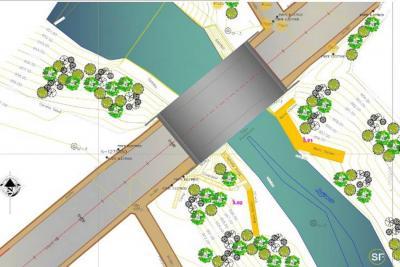 A mitad de año se empezará a construir puente en Floridablanca