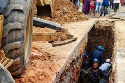 Un muerto y un herido tras alud en Bucaramanga