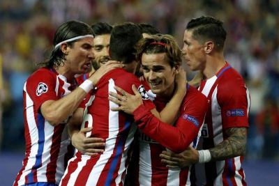 Atlético de Madrid venció 1-0 al Leicester City en la Liga de Campeones