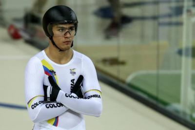 Medalla de plata logró Fabián Puerta en el Mundial de pista en Hong Kong