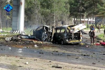 Sangriento atentado contra civiles evacuados en Siria
