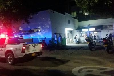 Eliécer Ravelo, quien fue era un exsoldado profesional, llegó sin vida al Hospital Regional del Magdalena Medio,