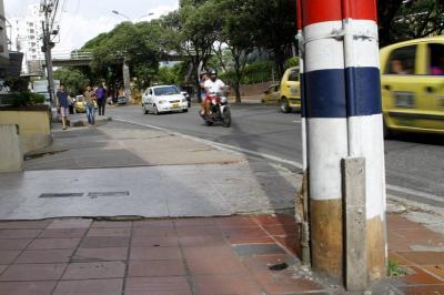 En accidente de tránsito murió trabajador del Palacio de Justicia de Bucaramanga
