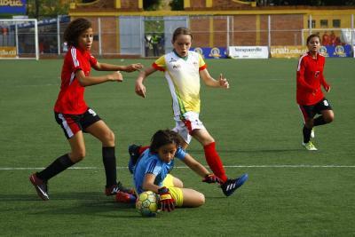 Nacional Infantil de Fútbol Femenino inició con goleadas