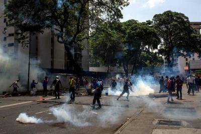 Un joven fue asesinado en las protestas que se llevan acabo este miércoles en Venezuela