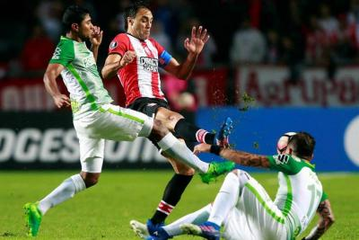 Nacional y Santa Fe no tuvieron una buena jornada en la Libertadores