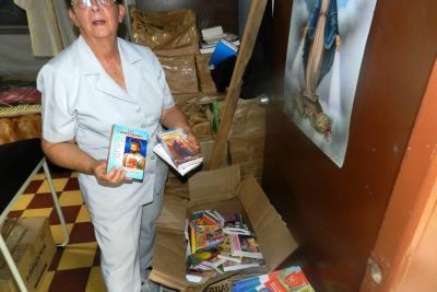 Donación de libros llegó a 30 veredas
