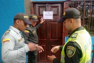 Sellado un hotel en Girón por no cumplir con ley