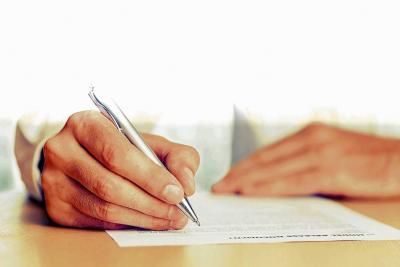 La voz, la nueva firma de documentos