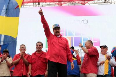 "Maduro pide ""elecciones ya"""