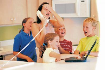 Familias numerosas:  ¡No entre en caos!