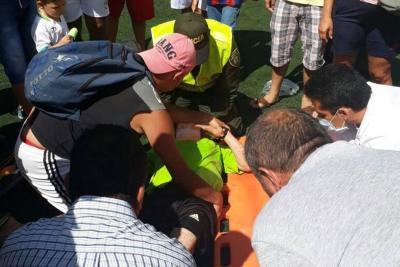 Árbitro fue brutalmente agredido en partido aficionado en Santander