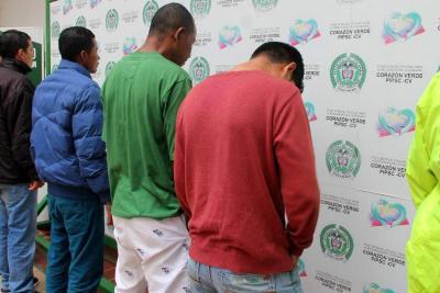 Cae una banda investigada por  robo de $41 millones en Girón