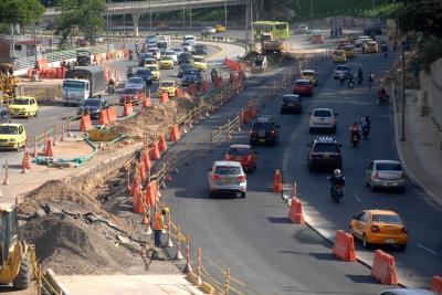 Ya hay paso a cuatro carriles en la Autopista a Bucaramanga