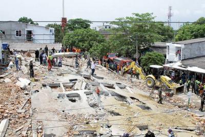 Colapso de edificio en Cartagena dejó 20 muertos según balance final