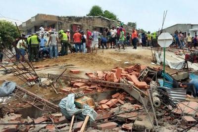 Asciende a 20 el número de muertos por desplome de edificio en Cartagena