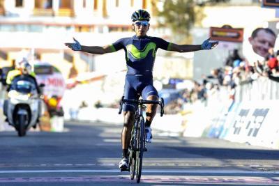 Nairo Quintana ganó la etapa reina de la Vuelta a Asturias