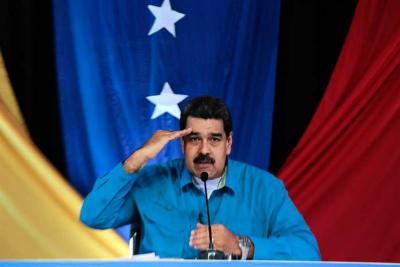 "Maduro convocó a una ""Asamblea Nacional Constituyente"" con la clase obrera"