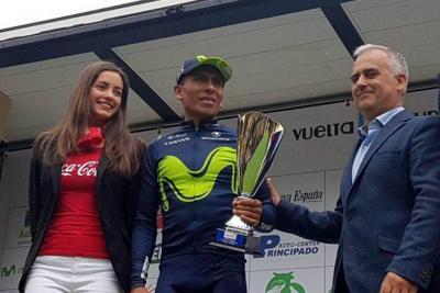 Nairo Quintana se quedó con el subtítulo de la Vuelta a Asturias