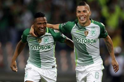 Atlético Nacional sigue con vida en la Libertadores luego de vencer 3-0 a Estudiantes