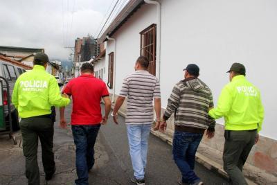 Cayó banda que atracaba a personas embriagadas en Bucaramanga
