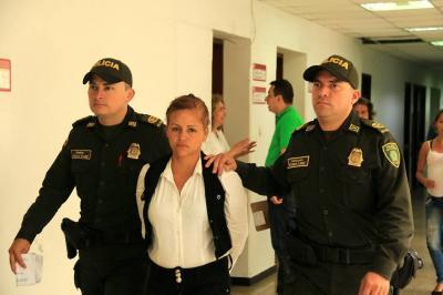 A prisión, mujer señalada del homicidio en la Plaza Central de Bucaramanga