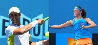 Los colombianos Mariana Duque y Santiago Giraldo arrasaron en el torneo de tenis de Madrid