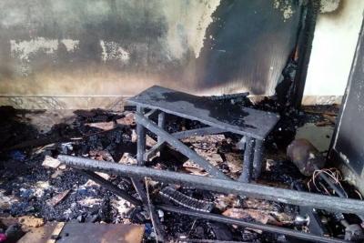 Hirió con cuchillo a su expareja y le prendió fuego a su casa en Santander