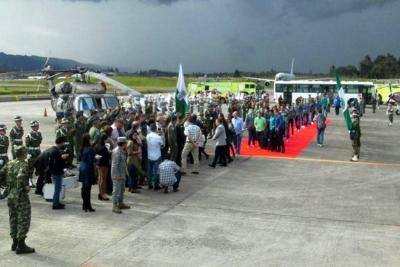 El Chapecoense arribó a Medellín cinco meses después de la tragedia
