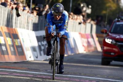 Nairo Quintana es sexto en la clasificación general del Giro de Italia