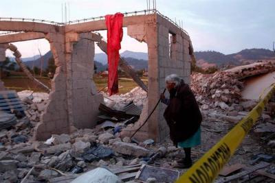 14 muertos y 11 heridos por explosión de almacén de pólvora en México