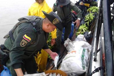 Policía incautó 5.000 metros de trasmallo en la San Silvestre